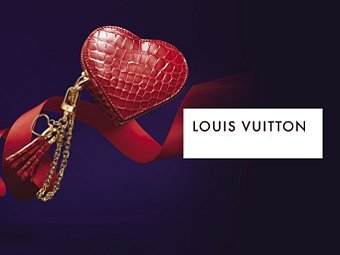 Скриншот сайта Louis Vuitton