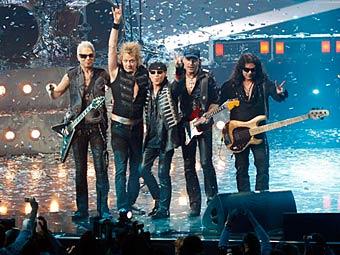 Scorpions. Фото (c)AP
