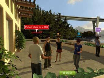 Скриншот PlayStation Home