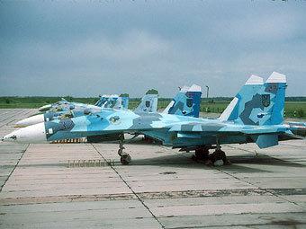 Су-27. Фото пользователя marianivka с сайта panoramio.com