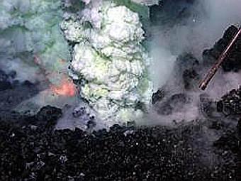 Извержение подводного вулкана. Фото NSF/NOAA