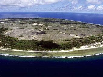 Вид на Науру. Фото (c)AFP.