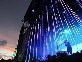 Концерт Radiohead. Фото AFP