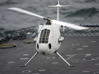 Camcopter S-100. Фото с сайта marinebuzz.com