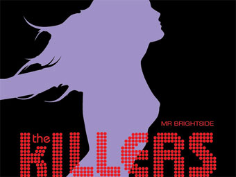 "Обложка сингла ""Mr. Brightside"" группы The Killers"