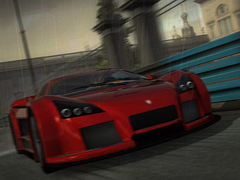 Скриншот Project Gotham Racing 4