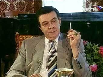 """Муслим Магомаев, кадр телеканала """"Россия"""", архив."""