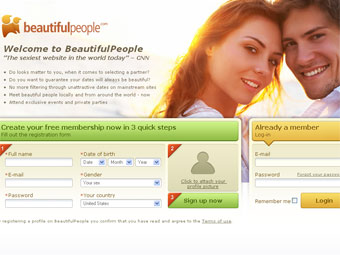 Скриншот beautifulpeople.com