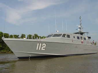 Сторожевой катер разработки Swiftships Shipbuilders. Фото с сайта www.defenseindustrydaily.com