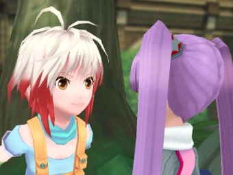Скриншот Tales of Graces