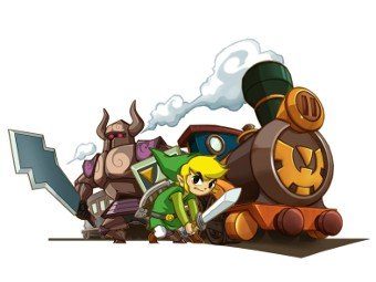 Арт к игре The Legend of Zelda: Spirit Tracks