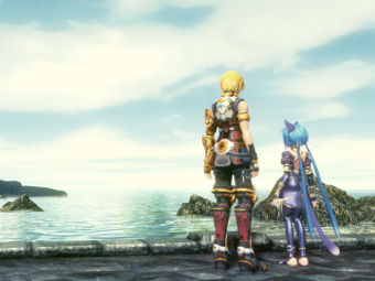 Скриншот Star Ocean: The Last Hope