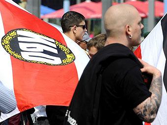 Немецкие неонацисты. Фото (c)AFP