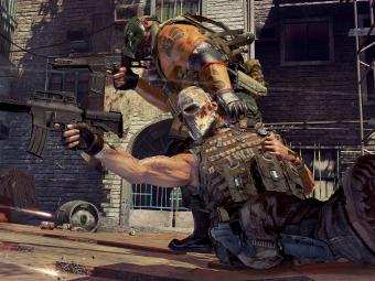Скриншот Army of Two: The 40th Day