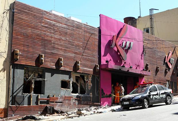 Клуб «Kiss» после пожара