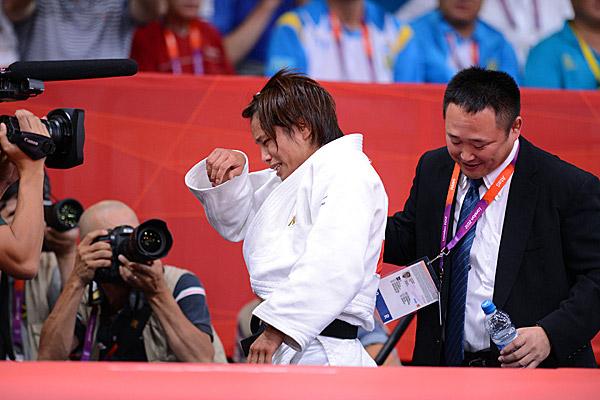 Каори Мацумото и Рюидзи Сонода на Олимпиаде 2012 года в Лондоне