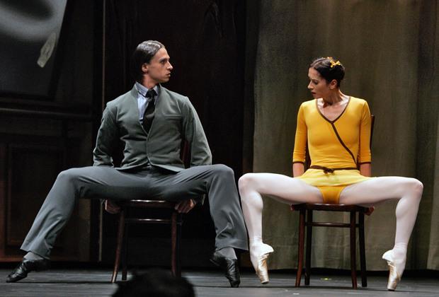 Солисты Большого театра Сергей Филин и Светлана Лунькина в одноактном балете «Урок», 2007 год