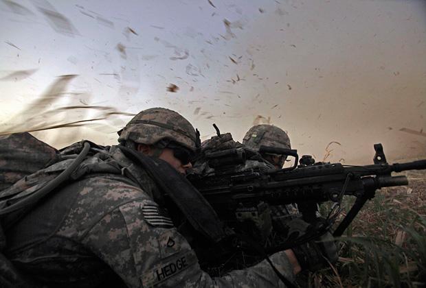 Американские солдаты в Ираке