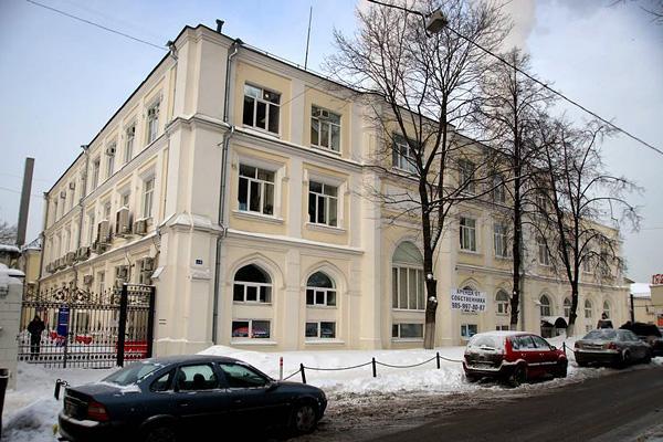 Здание общежития «Московского шелка»