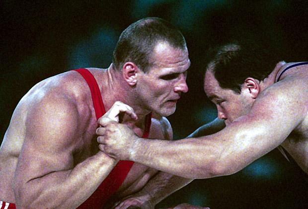 Александр Карелин на Олимпийских играх 1992 года