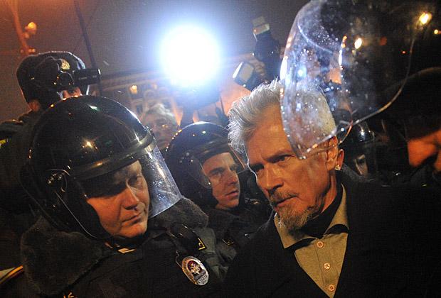 Задержание Эдуарда Лимонова на Триумфальной площади, 31 октября 2012 года