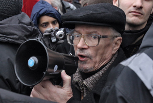 Эдуард Лимонов на площади Революции, 10 декабря 2011 года