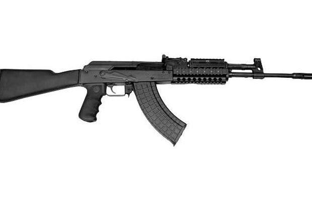 M10-762, копия автомата Калашникова