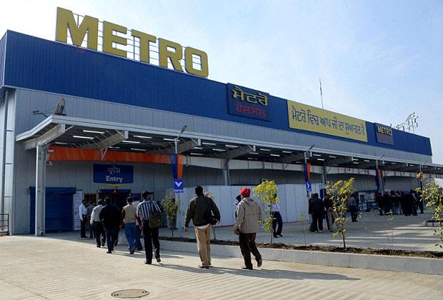 Открытие торгового центра Metro Cash & Carry в Амритсаре (Индия) в ноябре 2012 года