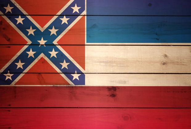 Флаг штата Миссисиппи
