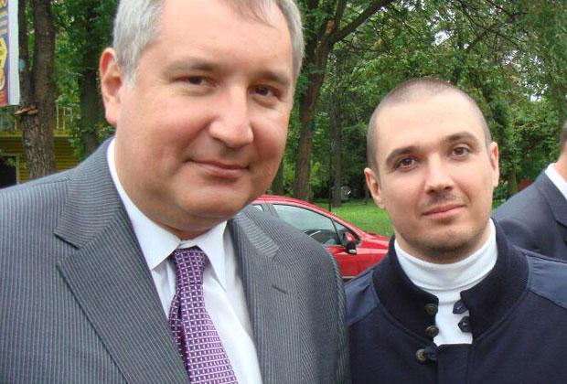 Дмитрий Рогозин и Александр Босых