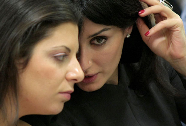 Маргарита Симоньян и Тина Канделаки