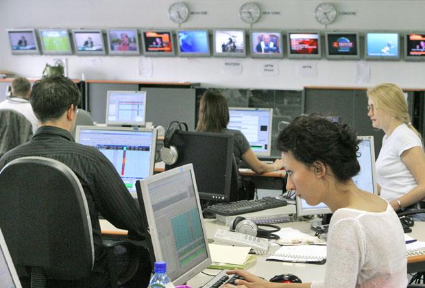 Редакция телеканала Russia Today