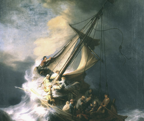 «Шторм на Галилейском море», Рембрандт ван Рейн, 1633