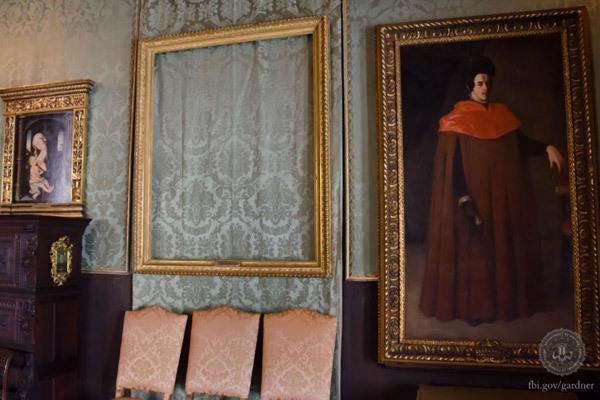 Музей Изабеллы Стюарт Гарднер после ограбления