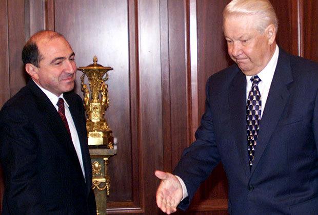 Борис Березовский и Борис Ельцин