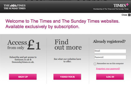 Скриншот сайта thesundaytimes.co.uk