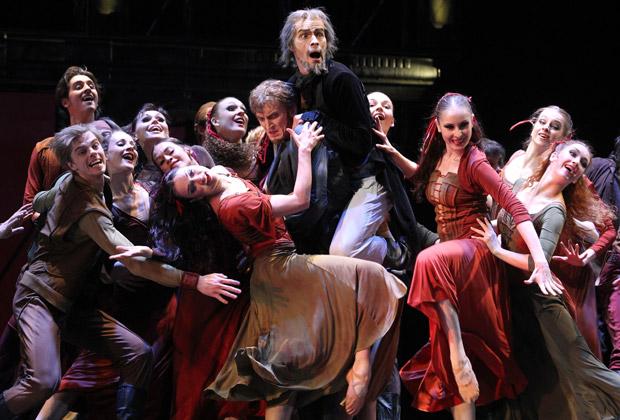 Премьера балета «По ту сторону греха»