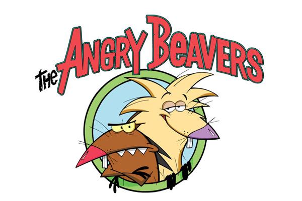 Эмблема мультфильма «Злюки бобры»
