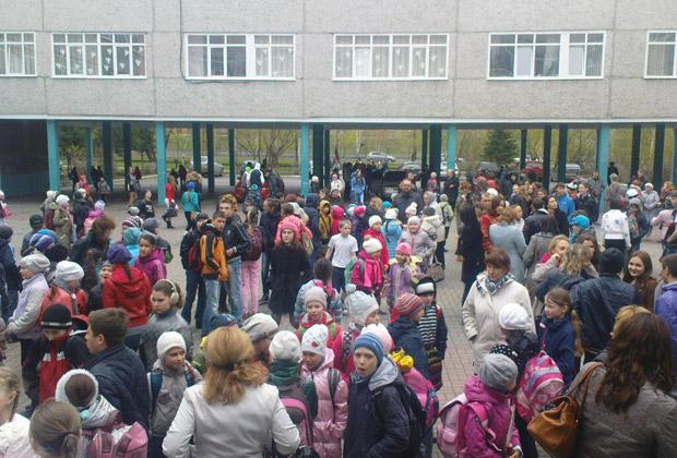 Эвакуация людей в Москве