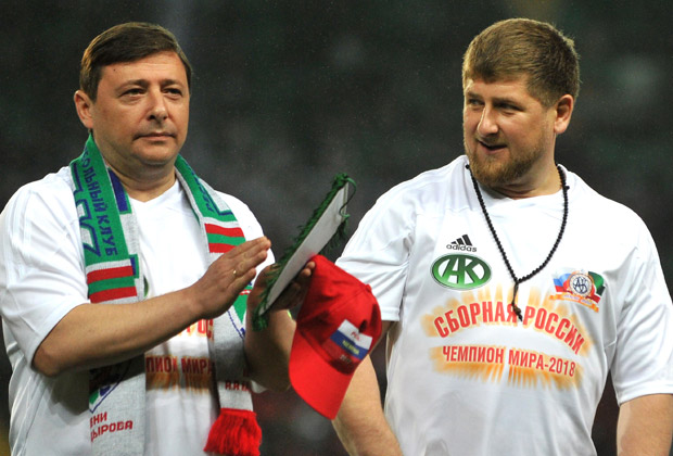 Александр Хлопонин и Рамзан Кадыров