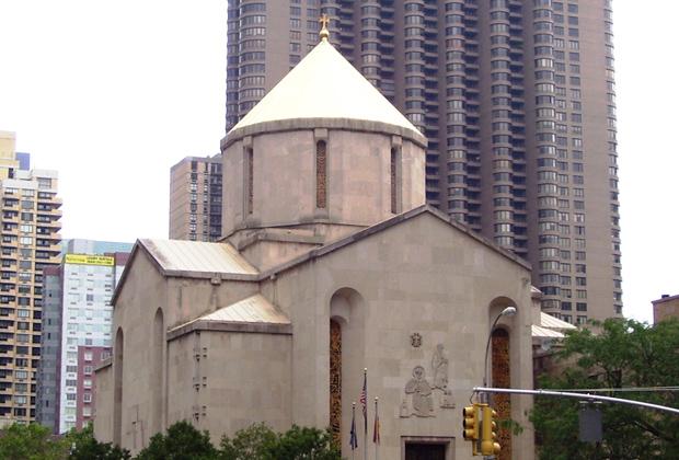Собор Святого Вардана в Нью-Йорке