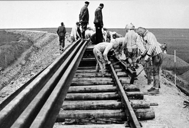 Строительство железной дороги Веймар — Бухенвальд