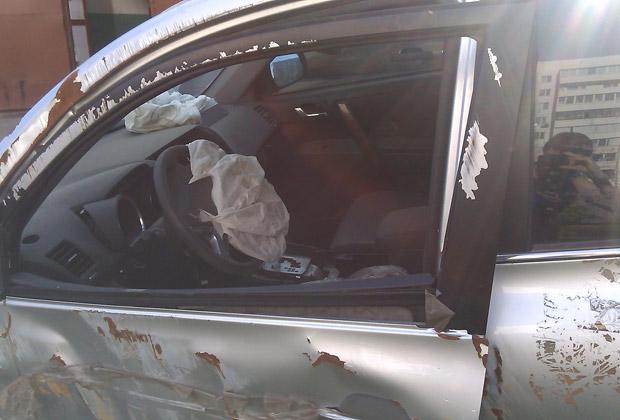 Автомобиль Валерия Саса