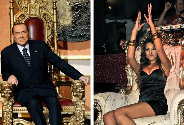 Сильвио Берлускони и Руби
