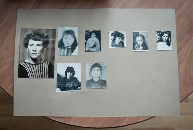 Фотографии убитых девушек