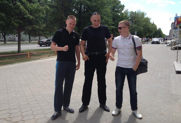 Лев Вычуров, Михаил Краснов и Даниил Андреевич
