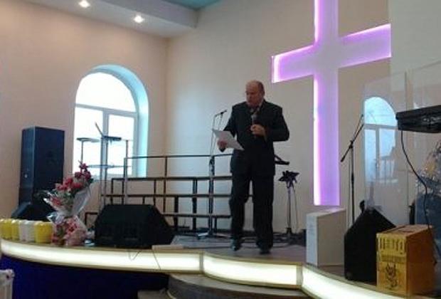Проповедь в церкви «Благодать» в Алма-Ате