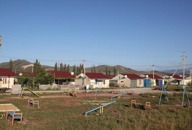 Поселок беженцев в Грузии
