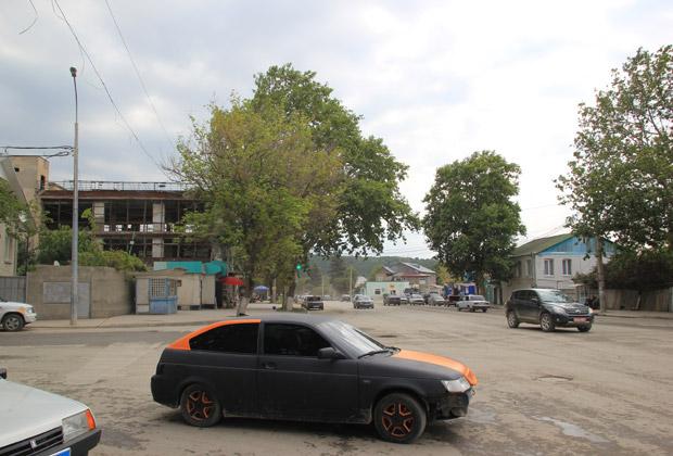 На улицах Цхинвали