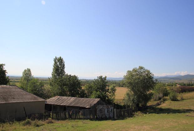 Вид на село Хурвалети